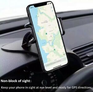 Universal Car Dashboard Phone Clip Holder Mount Stand Cradle HUD Design US