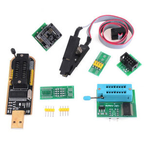 EEPROM BIOS usb programmer CH341A + SOIC8 clip+1.8V adapter + SOIC8 adapteRCUS