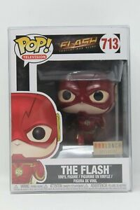 Funko POP Television THE FLASH #713 (BOXLUNCH EXCLUSIVE) Vinyl + Soft Protector