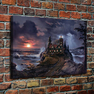 10x16 Magic castle HD Canvas Print Home decor painting