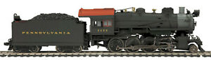 HO MTH Die Cast Pennsylvania H 10 2 8 0 2 Rail DC w DCC Sound Smoke 80 3242 1 $249.99