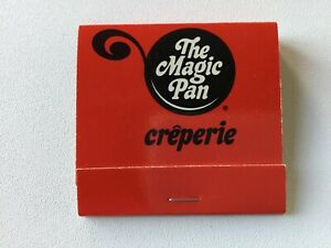Matchbook- The Magic Pan- Creperie restaurant Indianapolis Indiana NICE