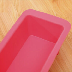 Non Stick Silicone Bread Bakeware Baking Pan Oven Rectangle Loaf Cake Mould BZ3
