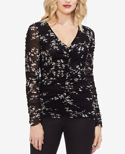 VINCE CAMUTO WOMEN LONG SLEEVE TOP NEW WITH TAG MSRP $99
