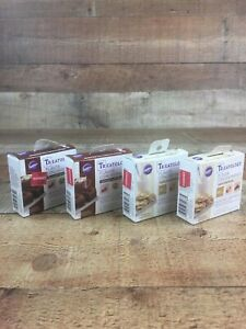 Wilton Treatology Flavor System 4 PACK VANILLA & CHOCOLATE TREAT CONCENTRATES