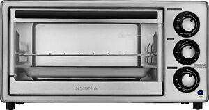 Insignia 4 Slice Toaster Oven Stainless Steel $39.99