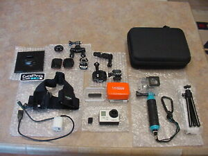 GoPro Hero 3 White Edition  Action Camera Camcorder With Accessories