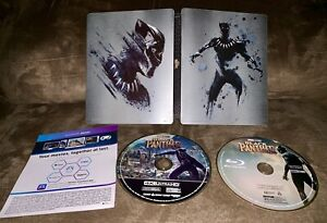 Black Panther 4K Ultra HD + Blu-ray SteelBook Best Buy Exclusive Marvel MCU