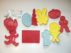 VARIETY OF COOKIE CUTTERS 11 pcs.