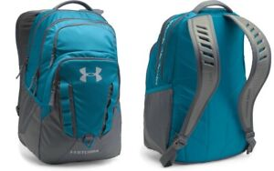 Under Armour UA Storm Recruit Backpack Water-Resistant Bag 1261825 Bayou Blue