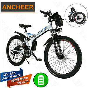ANCHEER Foldable Electric Mountain Bike Cycling 36V 16
