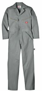 Dickies Men's Deluxe Cotton Coverall Small Tall Gray