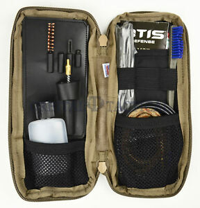 New OTIS I MOD Individual 5.56mm Weapon Cleaning Kit Coyote Pouch