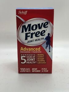 Schiff Move Free Advanced Joint Health Glucosamine + Chondroitin 200 Tablets