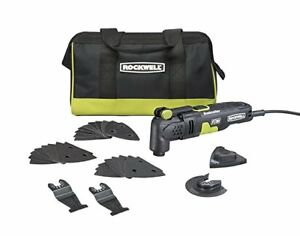 Rockwell RK5132K 3.5 Amp Sonicrafter F30 Oscillating Multi Tool Kit with Blades