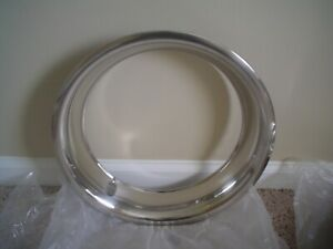 14 14x7 polished stainless beauty trim ring 1 single #1514D25 aftermarket $29.75