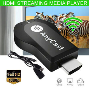 Anycast Miracast Airplay USB WiFi Wireless 1080P HD TV Display Dongle Adapter