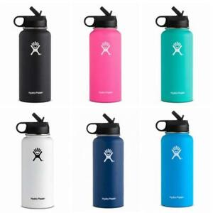 Hydro Flask 40oz Wide Mouth with Upgraded Straw Lid (Solid Colors) Must LK!!