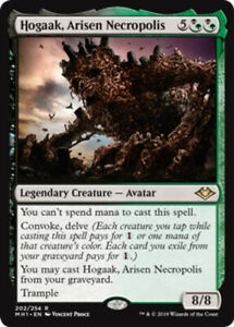 4x Hogaak, Arisen Necropolis NM-Mint, English Modern Horizons MTG Magic