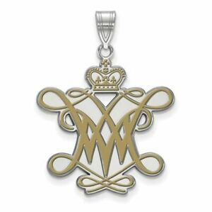 SS William And Mary XL Enamel Pendant