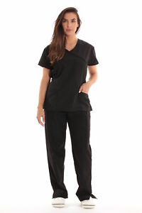 Just Love Women#x27;s Scrub Sets Medical Scrubs Tie Back
