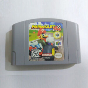 Newst Nintendo N64 Game: Mario Kart 64 Video Game Card USCAN Version V2B5J