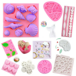 Silicone Fondant Mold Sugarcraft Cake Chocolate Decorating DIY Baking Mould Tool