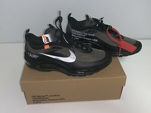 The Ten Off White Air Max 97 OG Mens Black size 10 US
