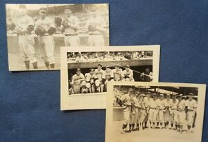 Cincinnati Reds Paul Derringer estate - Photo lot  - Individual shots