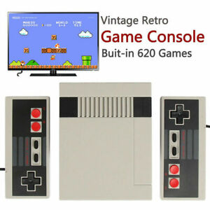 Retro Mini TV Video Handheld Game Console Built-in 620 Classic Games for NES FAS
