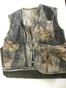 "Realtree Youth Camo Vest Real Tree Sz S 26"" Chest"