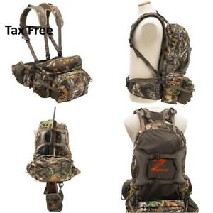 Pathfinder Hunting Pack Outdoor Z Realtree Deer Camping Archery Fishing Backpack