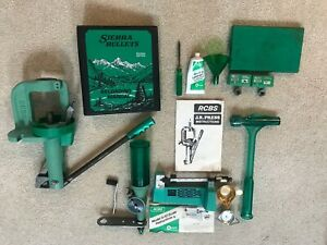 RCBS J.R. Single Stage Reloading Press Complete Kit Scale Powder Measure