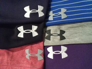 Lot of 6 Under Armour Mens Polo Shirt Size Large Golf SS Heat Gear Athletic Top