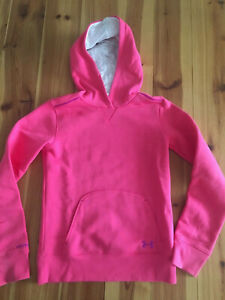 Under Armour girls hoodie - pink size YMD