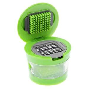 Portable Mini Garlic Grater Chopper Slicer Onion Hand Press Grinder Crusher F07#