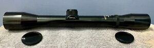 RARE VINTAGE HERTER'S 4X-32MM RIFLE SCOPE JAPAN CROSSHAIR EXCELLENT CONDITION