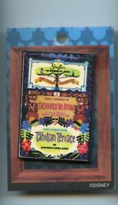 Disney Disneyland Enchanted Tiki Room Tahitian Terrace Attraction Poster LE Pin