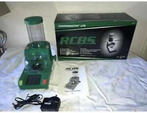RCBS Chargemaster Lite Reloading Scale Used Three Times Charge Master In Box