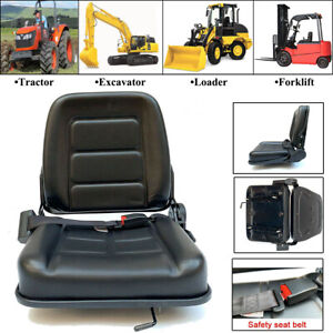 FORKLIFT SEAT Universal Tractor Suspension Seat for Tractor Loader Excavator US $125.00