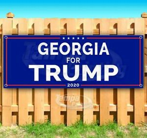 GEORGIA FOR TRUMP 2020 Advertising Vinyl Banner Flag Sign Many Sizes USA MAGA