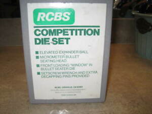 RCBS COMPETITION RIFLE RELOADING 2 DIE SET 3006