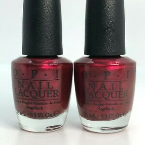 OPI Nail Polish Discontinued Colors E09 HL In My Santa Suit Set of 2