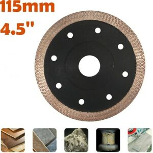 US 4.5'' 115mm Porcelain Tile Turbo Thin Diamond Dry Cutting Cutter Blade/Disc
