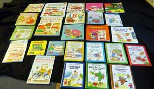 25 RICHARD SCARRY Children BOOK LOT children Bedtime Stories Words Busy Manners