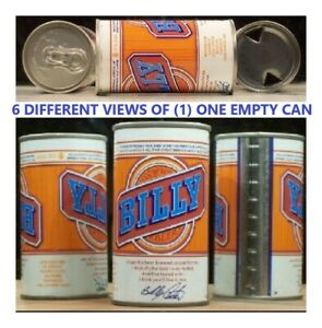 Billy Carter Beer Steel Can Purple Lines at Seam Cold Spring Minnesota 658 $4.95