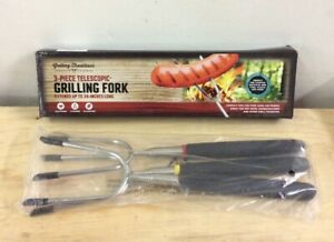 Grilling Traditions Telescopic BBQ Fork New Open Box