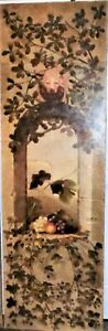 Large & Impressive Classical Victorian Mid-19th C. Oil Painting of Fruit