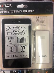 T 1733 Wireless Weather Station with Barometer