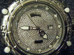 DIAMOND INVICTA WATCH 1.81TCW MENS 50mm SUBAQUA NOMA VI SWISS AUTOMATIC BRACELET